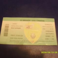 Bilet FC Brasov - U Craiova - Bilet meci