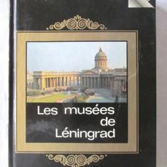 """LES MUSEES DE LENINGRAD"", V. Mouchtoukov, 1982. Ghid, cu harta. Carte noua, Alta editura"