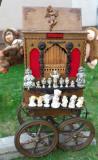 Flasneta Germana << DELEIKA >> 20 de Tuburi + CARUCIOR << DELEIKA >> Gramofon