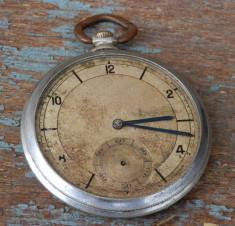 Ceas de buzunar vechi model Ancre, piese sau reparat foto