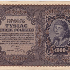 POLONIA 1.000 marek 1919 XF+!!!