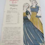 REVISTĂ MODA LIMBA RUSĂ  / NR.2/ 1957