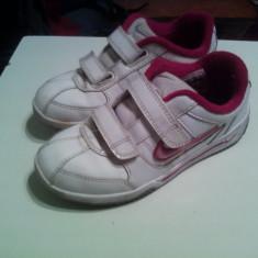 Pantofi sport Nike - Adidasi copii Nike, Marime: 30, Culoare: Alb, Fete