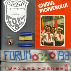 Materiale pionier forum pionieresc ghidul pionierului inel cravata trese + UTC