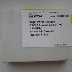 Cartuşe MUTOH RJ-800 Falcon CAD - Galben şi Negru - Cartus imprimanta