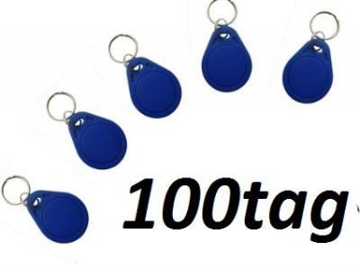 Cartele Acces TAG RFID Pachet 100 Buc Clonabile foto