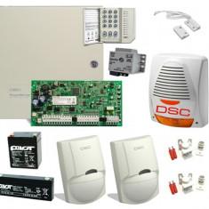 SISTEM DE ALARMA ANTIEFRACTIE DSC KIT 1616 EXT - Sisteme de alarma
