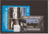 St. Vincent & the Grenadines - Concorde, Aviatie, America Centrala si de Sud