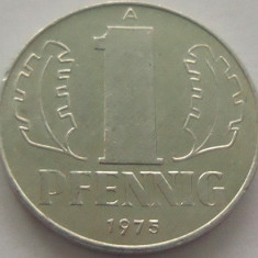 Moneda 1 Pfennig - RD GERMANA, anul 1975 *cod 942