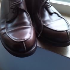 Pantofi englezesti barbati piele marime 40 - Pantof barbat, Culoare: Maro, Piele naturala