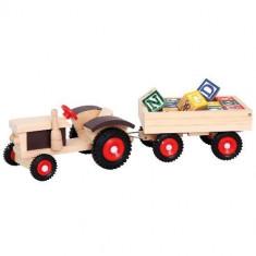 Tractor Abc - Jocuri arta si creatie Bino