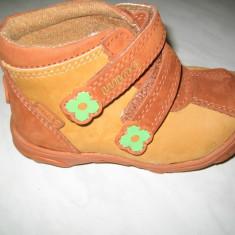 Pantofi piele fetite WINK;cod LL468-1(portocaliu);-3(pink);marime:21-26 - Pantofi copii Wink, Culoare: Orange, Roz, Marime: 22, 23, 24, 25, Fete, Piele naturala