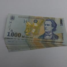 Lot de 11 bancnote Romanesti de 1000 lei din 1998, necirculate.Oferta! - Bancnota romaneasca