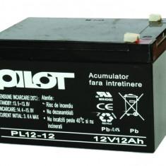 Acumulator PILOT 12V, 12Ah, PL 12