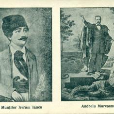 ROMANIA - Regele Muntilor Avram Iancu  si Andrei Muresanu- necirculata, Fotografie