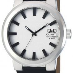 Ceas Q&Q barbatesc cod Q740J311Y - pret 99 lei (NOU; ORIGINAL) - Ceas barbatesc Q&Q, Casual, Quartz, Analog, Diametru carcasa: 45