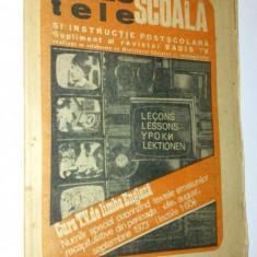 Revista Radio - Tele Scoala Supliment Radio Tv (Lectiile 1-60 '73) - Revista scolara