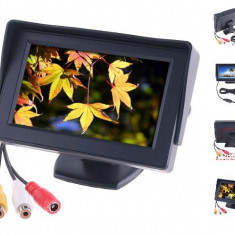 Display LCD 4.3 inch Monitor pentru Sistem Supraveghere Video sau Auto - Monitor supraveghere