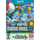 New Super Mario Bros. U With New Super Luigi U Nintendo Wii U, Actiune, 3+