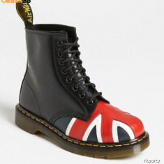 Dr. Martens Union Jack Combat Boot (Unisex) marimea 39, Culoare: Din imagine