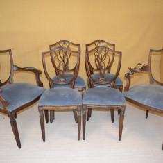 Set 2 fotolii si 4 scaune