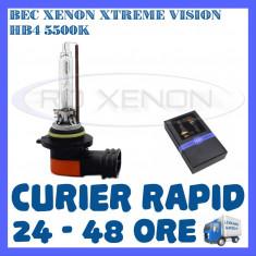 BEC XENON XTREME VISION - HB4 METALIC 5500K - CALITATE GARANTATA