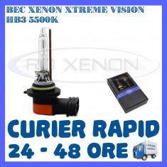 BEC XENON XTREME VISION - HB3 METALIC 5500K - CALITATE GARANTATA, BOORIN