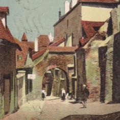 SIBIU, STRADA PEMPFLINGER, CIRCULATA 1943, STAMPILA CENZURAT SIBIU 4 - Carte Postala Transilvania dupa 1918, Printata