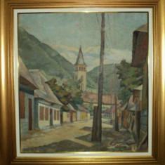 Mihalcea Braga, Strada la munte - Pictor roman