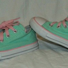 Tenisi copii CONVERSE ALL STAR - nr 25, Culoare: Din imagine, Unisex, Verde