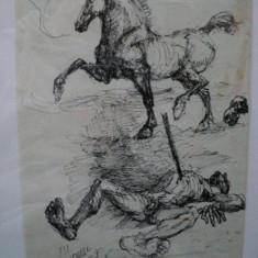 Marcel Chirnoaga, Soarta cavalerului - Pictor roman