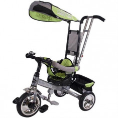 Tricicleta Lux Sun Baby Verde - Tricicleta copii