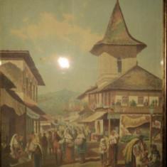 Carol Popp de Szathmari, Baratia din Campulung - Pictor roman