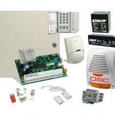SISTEM DE ALARMA ANTIEFRACTIE DSC KIT 585 EXT - Sisteme de alarma