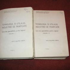 Tehnologia si utilajul industriei de panificatie - Voicu Giurca (2vol.) - Carti Industrie alimentara