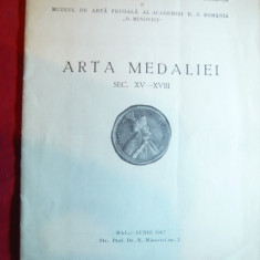 Arta Medaliei sec.XV-XVIII - Bibl.Academiei RSR Ed. 1967, ilustratii
