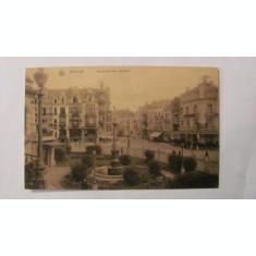 "CY - Ilustrata OSTENDE ""Bulevardul Van Iseghem"" necirculata Belgia"