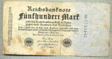 A 29 BANCNOTA-GERMANIA - 500 MARK- anul 1923 -SERIA 7723442-starea care se vede