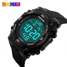 Skmei ceas, militar, outdoor, sport, digital, ceas negru, nou - Ceas barbatesc, Electronic