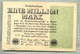 A 89 BANCNOTA-GERMANIA -1MILION MARK- anul 1923-SERIA FARA -starea care se vede
