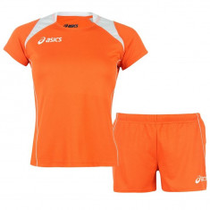Set Sport Fitness tricou + pantaloni scurti dama Asics original - marimea S M