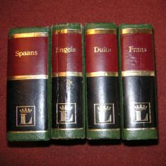 Dictionar olandez -spaniol, olandez - englez, olandez -german, olandez- francez