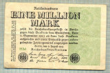 A 90 BANCNOTA-GERMANIA -1MILION MARK- anul 1923-SERIA FARA -starea care se vede