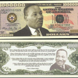 !!! SUA = FANTASY NOTE = MARTIN LUTHER KING - 2009 - UNC - bancnota america