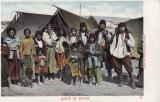 SATRA DE TIGANI , FOTO  H.WICHMANN  , GALATI, Necirculata, Printata