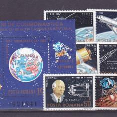Romania ,25 de ani Cosmos  , nr lista 1071/1072.
