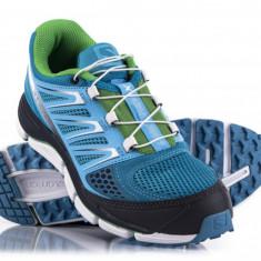 Salomon X-Wind PRO (dama), boss blue, trail running, toate marimile! - Adidasi dama Salomon, Culoare: Bleu, Marime: 37 1/3, 38, 38 2/3, 39 1/3, 40, Textil