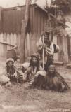SALUTARI   DIN  ROMANIA  O FAMILIE  DE TIGANI   CIRCULATA  1912, Printata