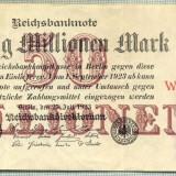 A 69 BANCNOTA-GERMANIA -50 MILION MARK- anul 1923 -SERIA.. -starea care se vede