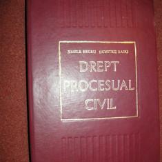 VASILE NEGRU, DUMITRU RADU - DREPT PROCESUAL CIVIL - Carte Drept procesual civil